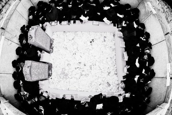צילום ייחודי של אוהל ציון הרבי מלובביץ